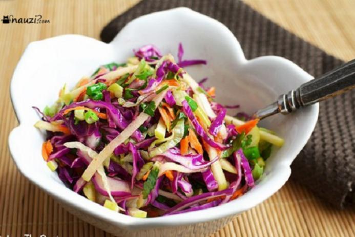 Học cách làm Salad bắp cải tím vừa ngăn ngừa ung thư mà vẫn giảm cân hiệu quả