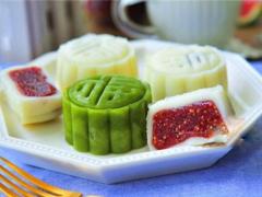 Mới lạ và tươi mát với cách làm bánh trung thu nhân hoa quả